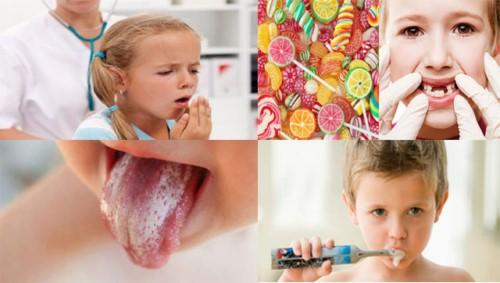 Nguyên nhân gây hôi miệng ở trẻ em