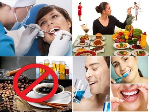 cách phòng ngừa các bệnh về nướu răng