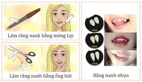 Làm răng nanh giả