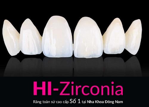 răng sứ Hi – Zirconia