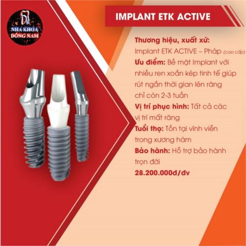 implant etk active