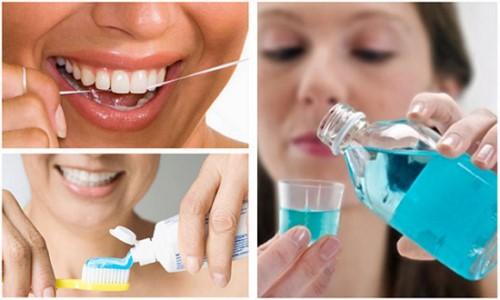 các bước chăm sóc răng miệng đúng cách