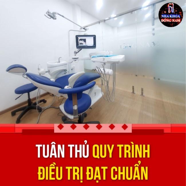 phòng điều trị tại nha khoa đông nam