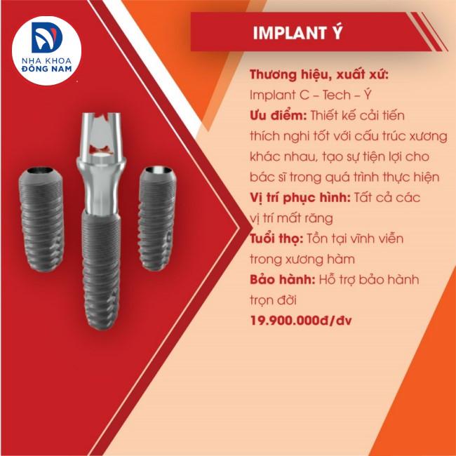 implant ý c-tech