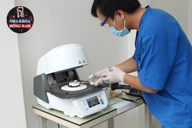 Chế tác răng sứ tại nha khoa Đông Nam