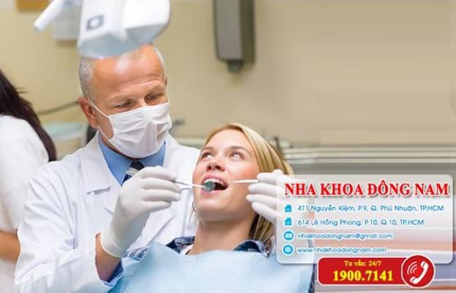 Khám răng tại nha khoa Đông Nam