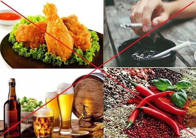 Tránh các thực phẩm có hại cho răng miệng