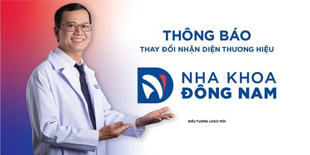 nha khoa Đông Nam thông báo đổi logo