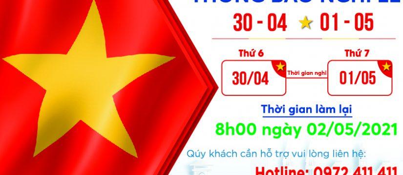 Nha Khoa Đông Nam Thông báo nghỉ lễ