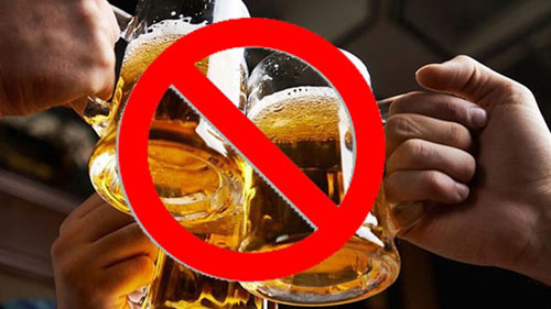 Kiêng cử bia rượu sau sinh